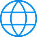 blue, connections, globe, international, internet, network, planet, web, worldwide icon