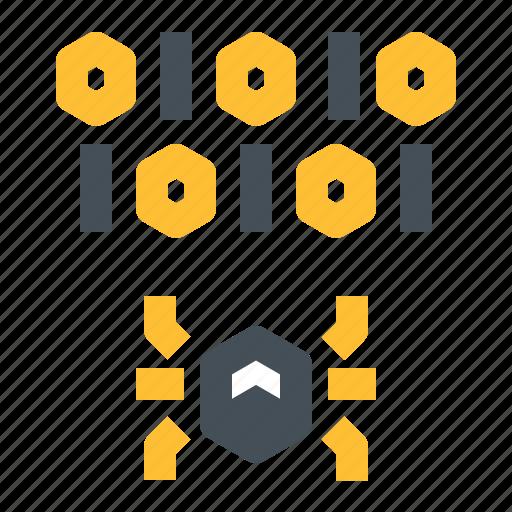 bug, code, crack, exploit, eye, scan, vuln icon
