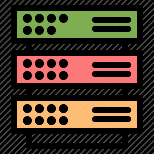 Network, rack, server, storage icon - Download on Iconfinder