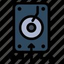backup, data, file, server, storage icon