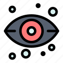 eye, server, storage, view icon