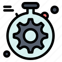 gear, server, setting icon