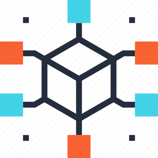 communication, connection, data, internet, link, network, structure icon