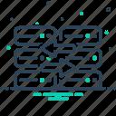 database, exchange, replace, server icon