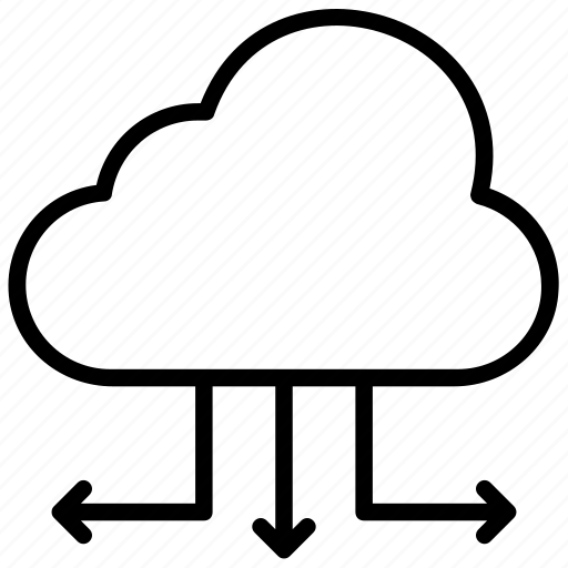 Cloud computing, cloud hosting, cloud network, cloud services, cloud technology icon - Download on Iconfinder