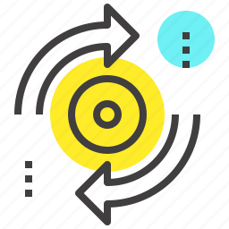 arrows, refresh, reload, rotate, sync, system, update icon