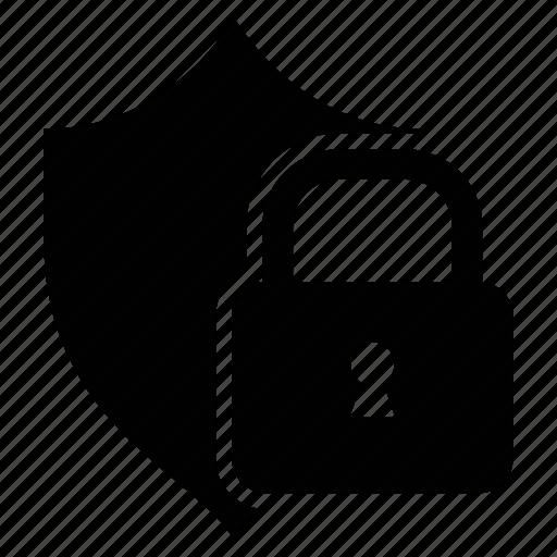 lock, protection, security, sheild icon