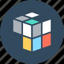 3d cube, cubic, graphic, puzzle cube, rubik's cube
