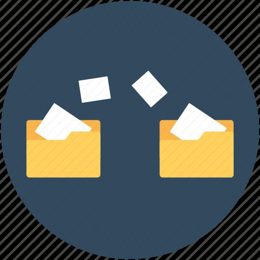 backup, data moving, folder sharing, folders, moving to folder icon