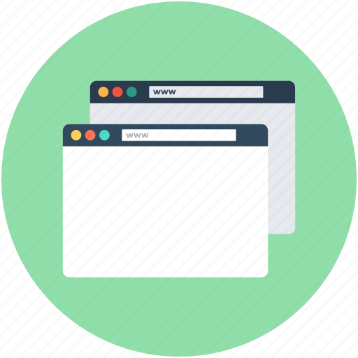 landing pages, search marketing, sem, seo, web pages icon