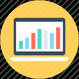 bar chart, bar graph, graph report, online graph, seo graph icon