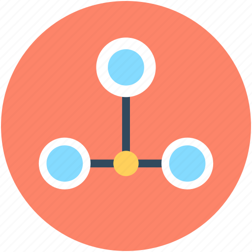 hierarchy, network, network model, sitemap, workflow icon
