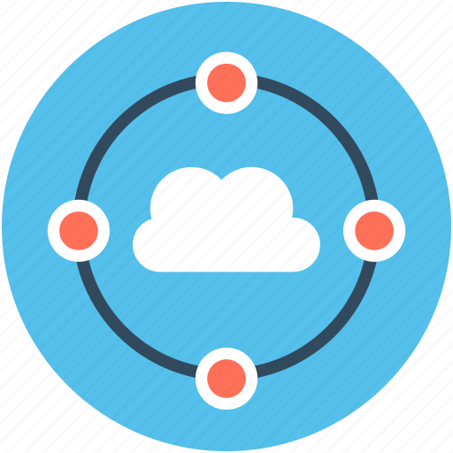 cloud computing, cloud connection, cloud network, cloud sharing, storage cloud icon