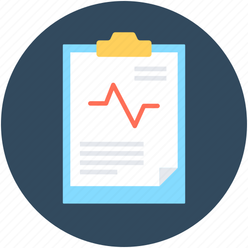 business report, clipboard, graph report, report, statistics icon