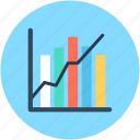 analytics, bar chart, statistics, growth chart, bar graph