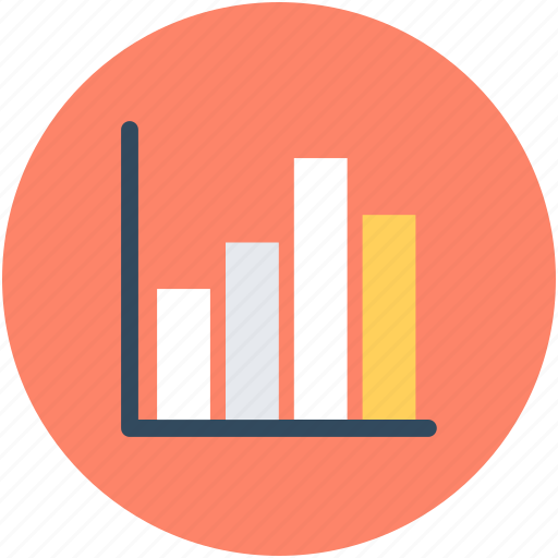 bar chart, bar graph, business chart, graph, infographics icon