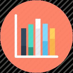 bar chart, bar graph, business chart, graph, infographics icon