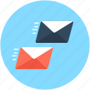 mail sending, send email, send mail, sending email, service courier icon