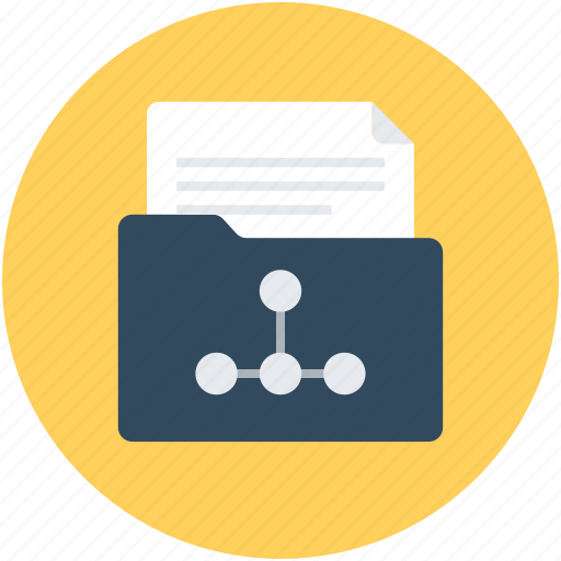 archive, file storage, folder, graph folder, graph storage icon