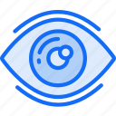 data science, eye, information, sight, visualisation icon