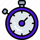 data science, measure, measurement, stopwatch, time, timer icon