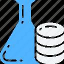data, data science, information, science, scientific, storage, test icon