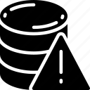 data, data science, error, information, problem warning icon