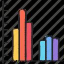 bar, chart, data, data science, graph, information icon