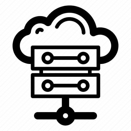 cloud computing, cloud data, cloud data server, cloud hosting, cloud network, cloud technology icon