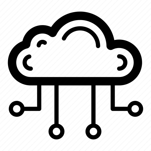 cloud computing network, cloud data, cloud hosting, cloud services, cloud technology icon