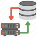 database engine, database management system, database server, database storage hierarchy, storage engine icon
