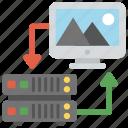 image gallery hosting, image hosting service, image server, virtual private server, web hosting icon