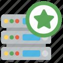 favorite website, popular database, server ranking, server rating, server with star