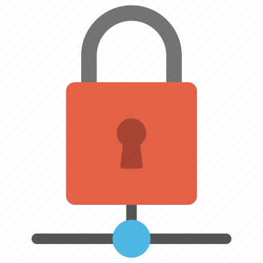 data security, database protection, e-safety, internet security, network padlock icon