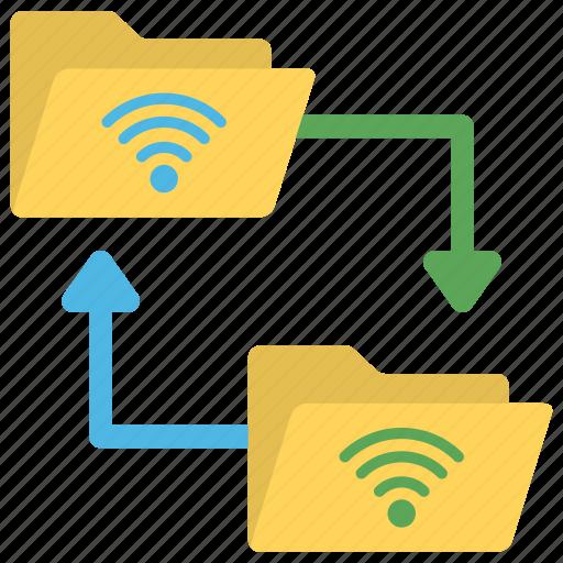wireless data, wireless database, wireless database access, wireless information access, wireless information network icon