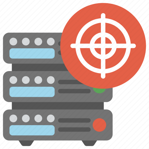 data management, server administration, server hosting, server performance, target server icon