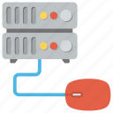 client server, computing server, database management, server, server hosting icon