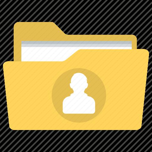 customer user, personal documents, personal folder, user folder, user profile folder icon