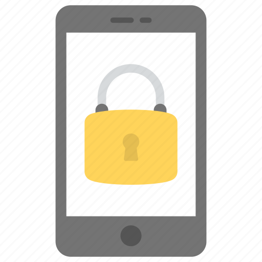 locked phone, mobile data protection, mobile password security, mobile security, smartphone and lock icon