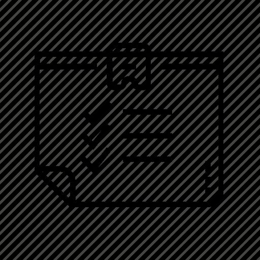 business, business presentation, checklist, data tablet, information, presentation, tick icon