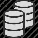 archive, data, database, storage icon