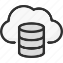archive, cloud, data, database, online, storage