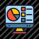 database, analytic, network, statistic, servers icon