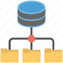 data network, data server, sql data storage, sql database, sql server icon