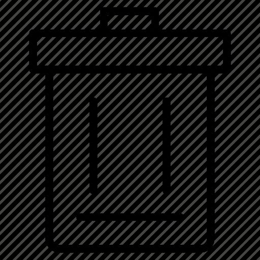 delete, garbage, recyclebin, remove, trash icon