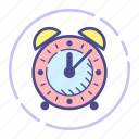 alarm, bell, clock, schedule, watch