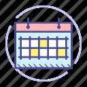 calendar, date, event, month, schedule