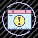 attention, calendar, date, event, planning, schedule