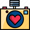 camera, capture, dating, photo, romantic, valentine icon