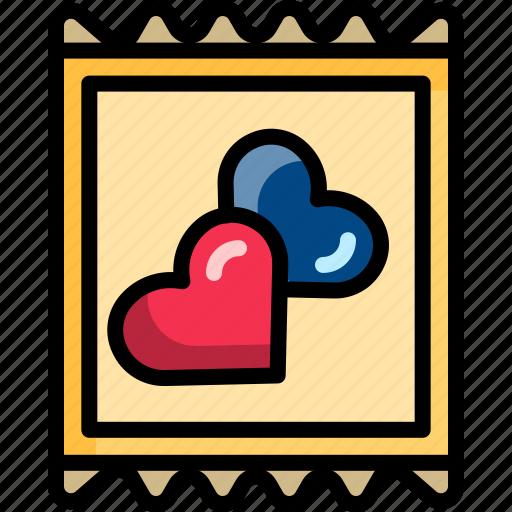 condom, dating, heart, night, sex, valentine icon
